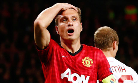 Nemanja Vidic last played for Manchester United in a Champions League match against Galatasaray