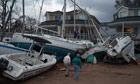 Superstorm Sandy damage in New York