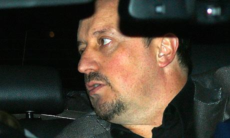 Chelsea's new manager Rafael Benitez