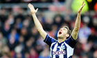 Zoltan Gera was at his luxurious best for West Bromwich Albion aganist Sunderland.