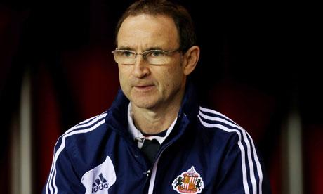Sunderland's Martin O'Neill