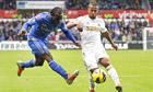 Chelsea's midfielder Victor Moses