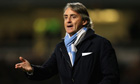Roberto Mancini said he was being honest about City