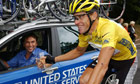 Lance Armstrong riding for US Postal