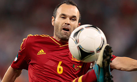 Iniesta on Andr S Iniesta Football Isn 39 T A Science We Play This Way Because It