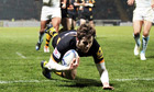 Elliot Daly puts London Wasps 14-0 up