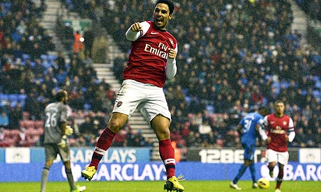 Arsenal's Spanish midfielder Mikel Arteta
