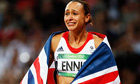 Jessica Ennis close to tears