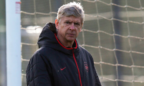 Watch Arsene Wenger deny Arsenal are in crisis pre Olympiakos