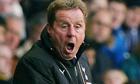 Harry Redknapp. Tottenham manager