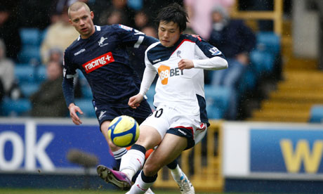 Ryo Miyaichi opens the scoring for Bolton