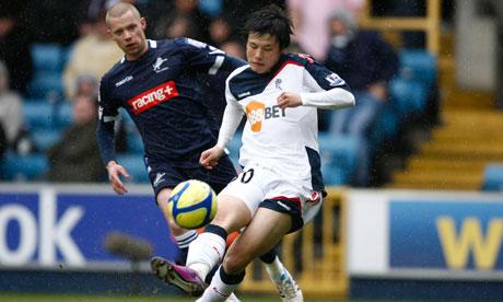 Ryo Miyaichi opens the scoring for Bolton