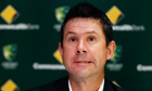 Ricky Ponting speaks in Sydney