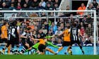 Kevin Doyle scores for Wolves against Newcastle