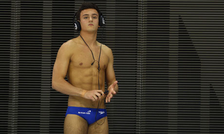 Tom Daley Hard On Tom daley is working hard for
