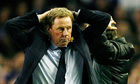 Harry Redknapp's frustration shows during Tottenham Hotspur's 1-0 defeat at Everton