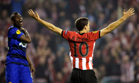 Athletic Bilbao's Oscar de Marcos