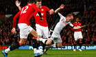 Michael Carrick Danny Murphy Manchester United Fulham