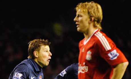 Arshavin scores four at Liverpool