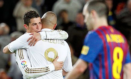 Cristiano Ronaldo is Benzema And Ronaldo 2012