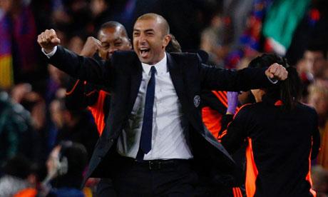 Roberto Di Matteo, Chelsea interim coach