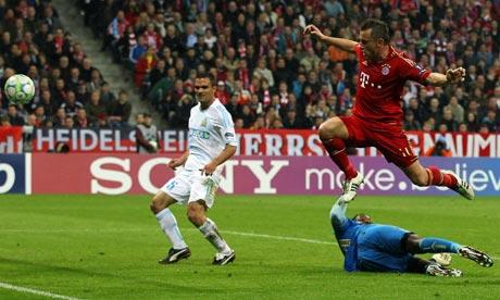Bayern Munich 2-0 Marseille