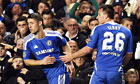 Chelsea's John Terry, who has broken two ribs, is replaced by Gary Cahill against Benfica