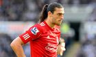Liverpool's Andy Carroll at Newcastle United