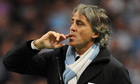 Roberto Mancini is content with his City squad