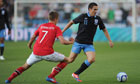 Stewart Downing - Norway v England