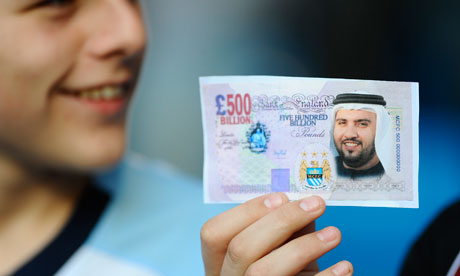 Manchester City's rise under Sheikh Mansour