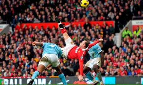 Wayne Rooney of Manchester United