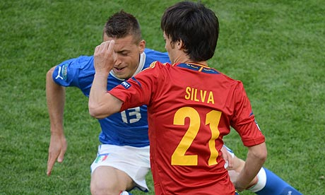 Spain v Italy