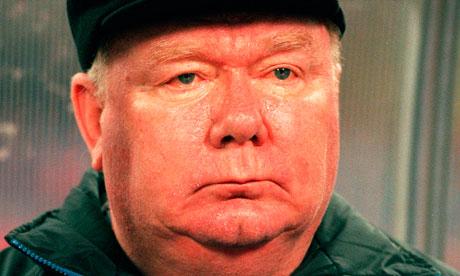 Valeriy Lobanovsky, former head coach of Dynamo Kyiv