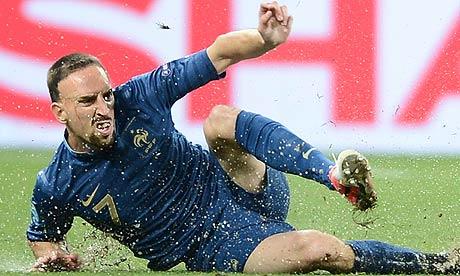 French midfielder Franck Ribery