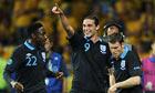 Danny Welbeck Andy Carroll James Milner England