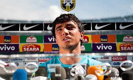 Rafael da Silva of Brazil and Manchester United