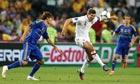 Steven Gerrard against Ukraine