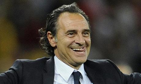 Liga Europa Liga Italia Liga Spanyol  - Spanyol vs Italia: Prandelli katakan tiki taka tak membosankan