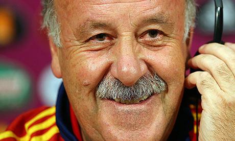Spanyol vs Italia: Del Bosque katakan peluang kedua tim sama