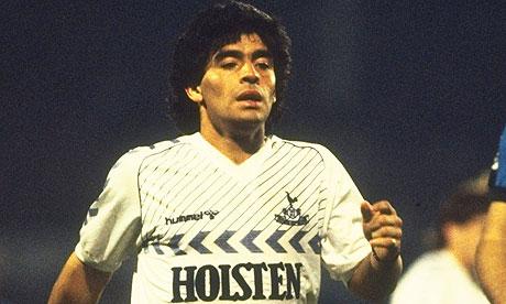Diego Maradona of Tottenh 008 Craziest Spurs rumour EVER?! Diego Maradona to take over from AVB! [Sport Mediaset]