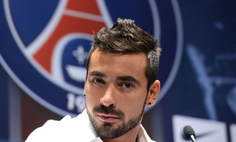 Lavezzi goes missing, doesn't turn up for PSG training camp 1