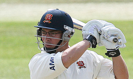 Graham Napier of Essex weighed in with runs and wickets against Derbyshire.
