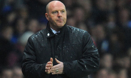 Blackburn Rovers coach Steve Kean