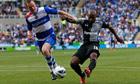 Tottenham Jermain Defoe fires home his second goal