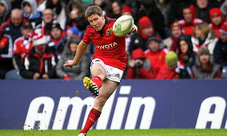 Munster's Ronan O'Gara could be banned for some or all of Ireland's Six Nations games.