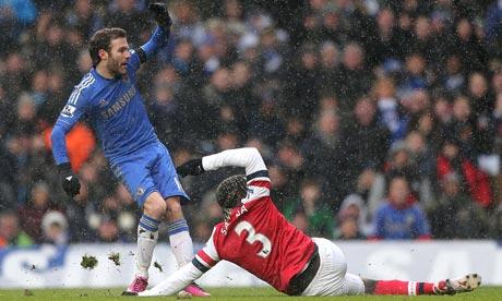 Juan Mata opens the scoring