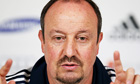 Rafa Benítez, the Chelsea interim manager