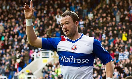 Noel Hunt scored twice for Reading
