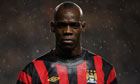 A moody looking Mario Balotelli